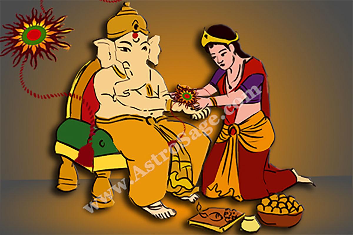 Raksha Bandhan 2200 Rakhi Purnima Date For New Delhi India
