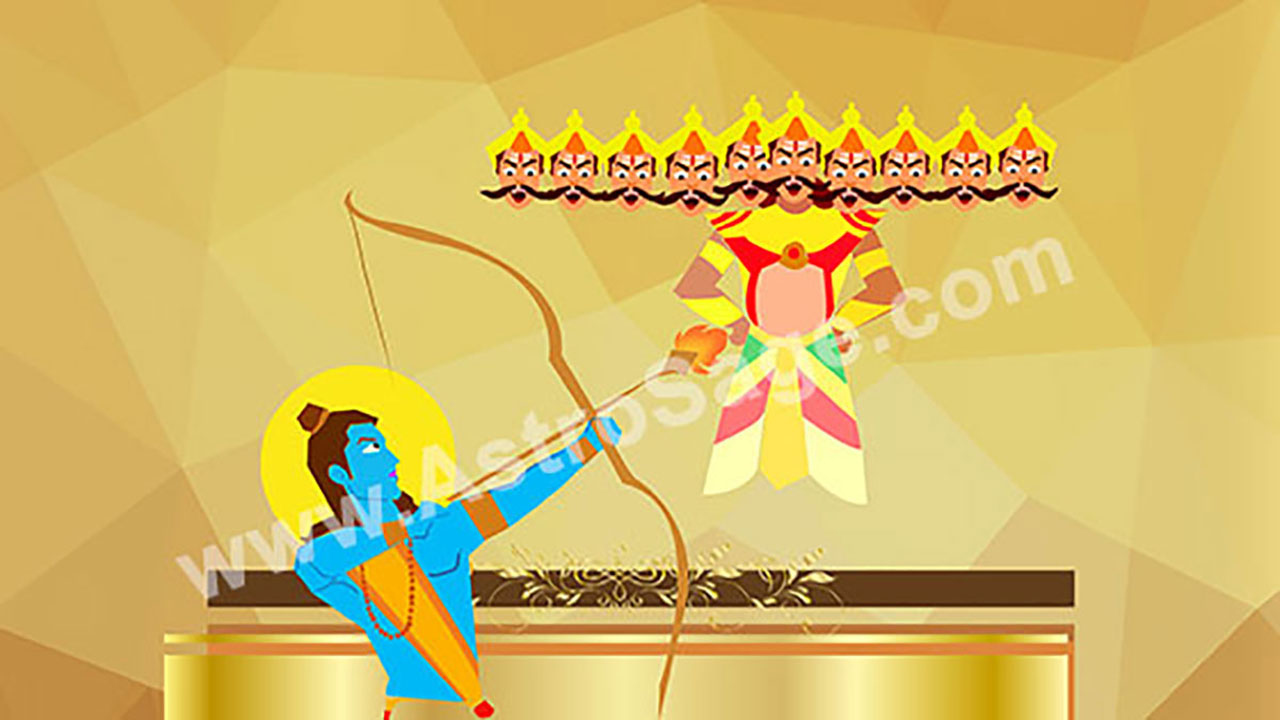 Dasara Festival 2020.Dussehra 2020 Date Vijayadashami Muhurat New Delhi India